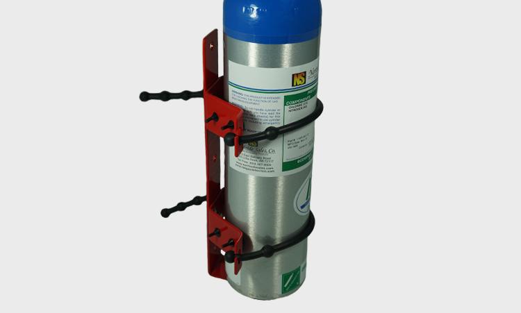 Calibration Gas Cylinder Brackets