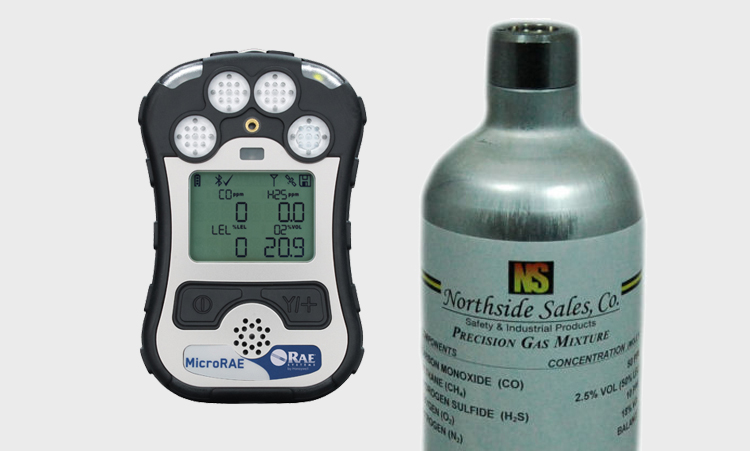 Calibration Gas for MicroRAE