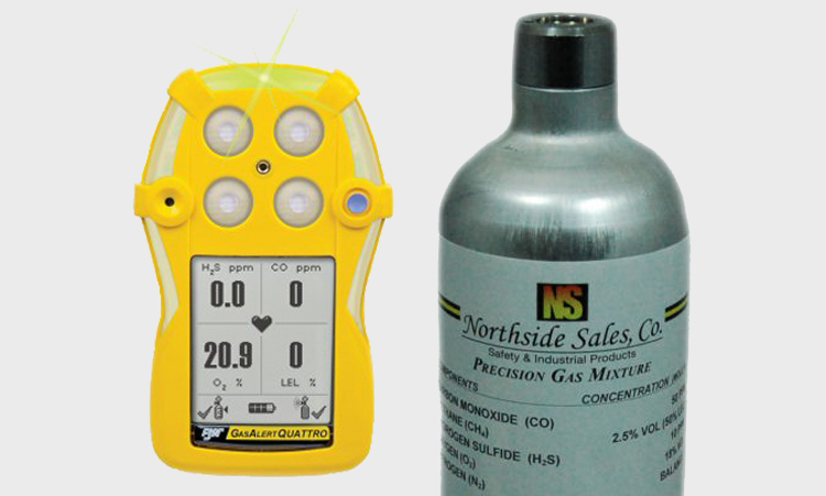 Calibration Gas for GasAlert Quattro
