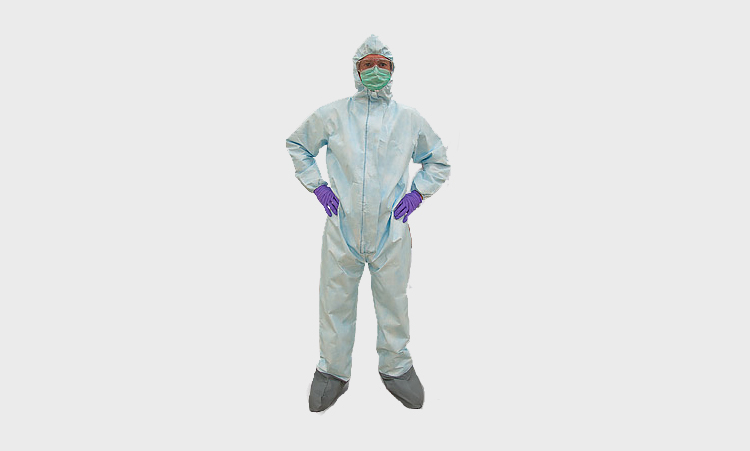 Coveralls with Elastic Hood Wrists and Booties