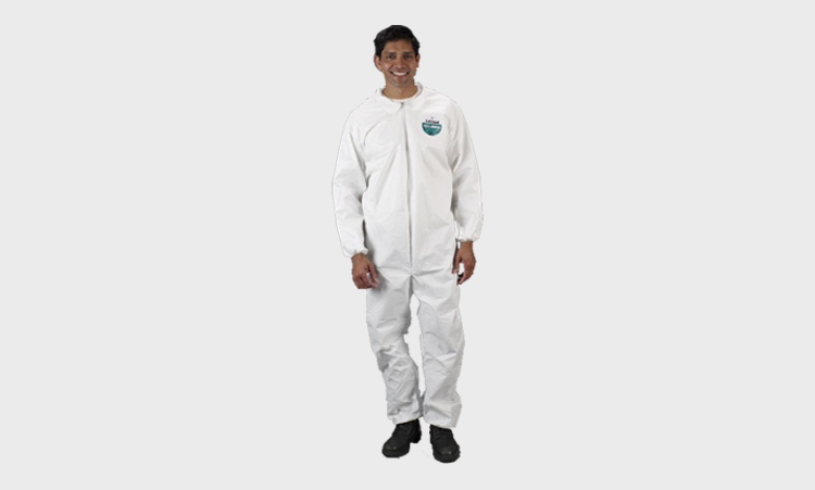 Coveralls with Elastic Wrists and Ankles