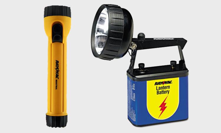 Rayovac Alkaline Flashlights