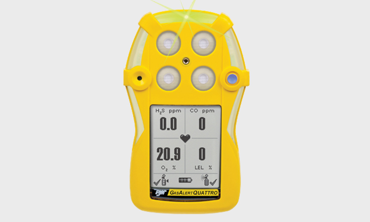 BW Honeywell - Gas Alert Quattro Replacement Sensors