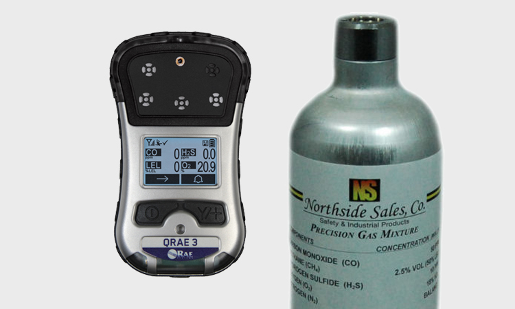Calibration Bump Test Gas For Rae Systems Gas Monitors