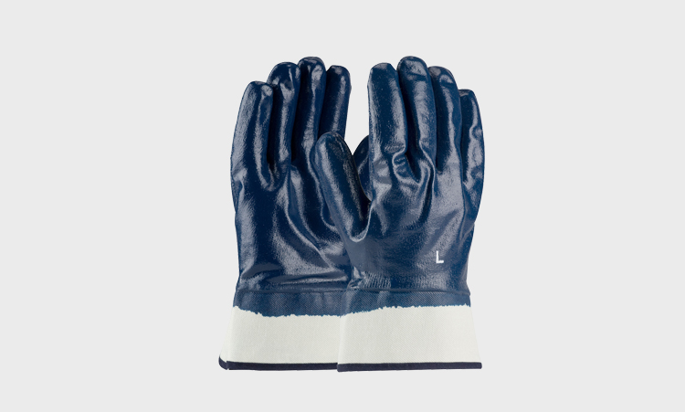 Coated Nitrile Gloves
