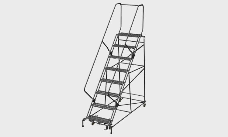Rolling Metal Ladders