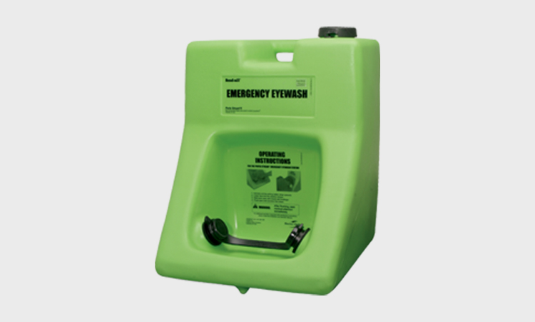 Self Contained and Portable Emergency Eyewash Stations