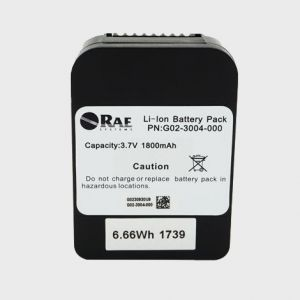Battery for ToxiRAE Pro